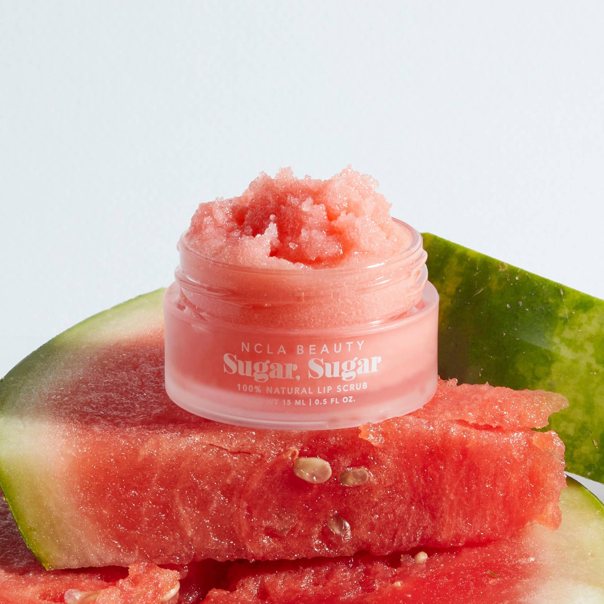 NCLA Beauty All-Natural Watermelon Lip Scrub