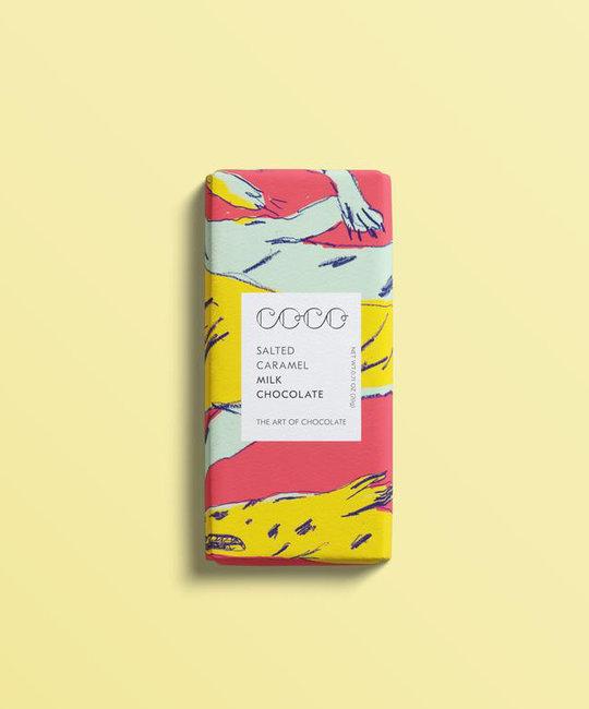 Coco Chocolatier Mini Salted Caramel Chocolate Bar