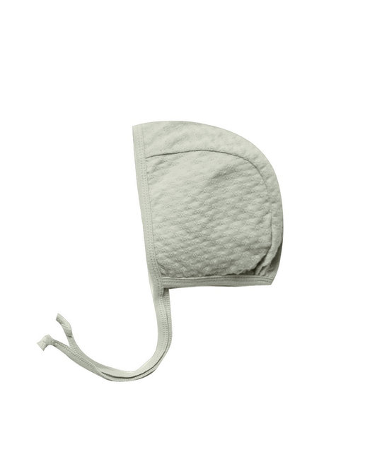 Quincy Mae - QM Quincy Mae - Pointelle Baby Bonnet in Sage