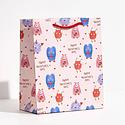 Waste Not Paper - WN Monsters Gift Bag, Medium