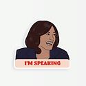 Party Mountain - PM Kamala: I'm Speaking (Sticker)