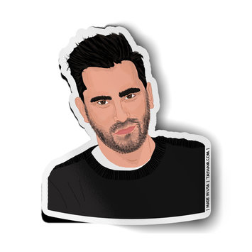 Tay Ham - TH David Rose Sticker