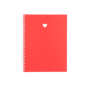 Appointed - APP Appointed Heart Workbook in Strawberry Red