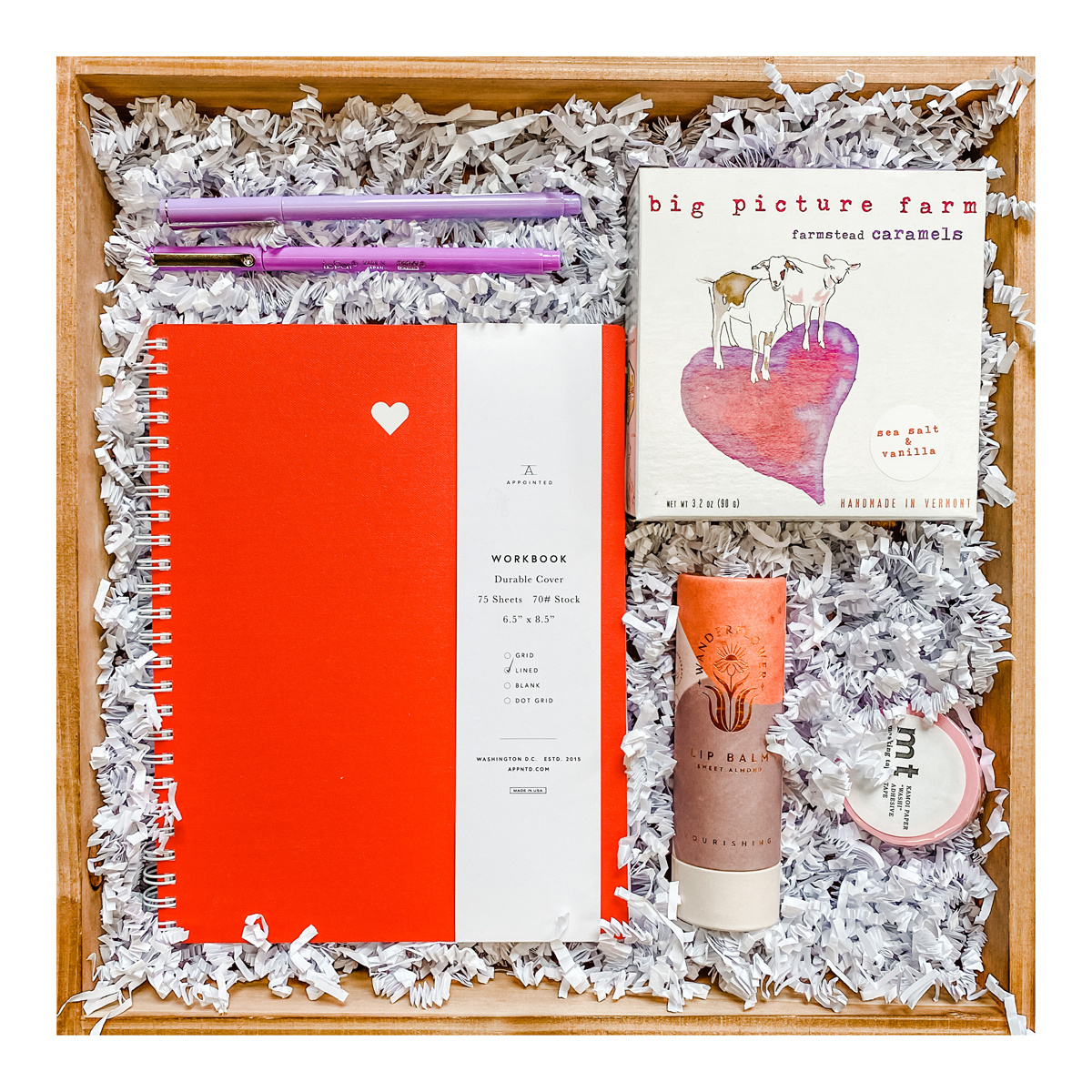 Gus and Ruby Letterpress - GR Gus & Ruby - XOXO Gift Box