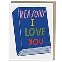 Em + Friends - EMM Reasons I love You Book Card