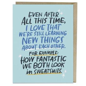 Em + Friends - EMM Sweatsuits Love Card