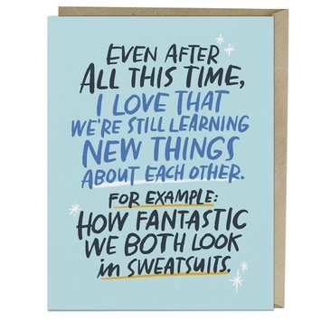 Emily McDowell - EMM Sweatsuits Love Card