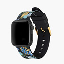 Rifle Paper Co - RP Rifle Paper Co - Garden Party Blue Apple Watch Band, 42-44mm