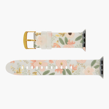 Rifle Paper Co - RP Rifle Paper - Wildflower Apple Watch Band, 42-44mm