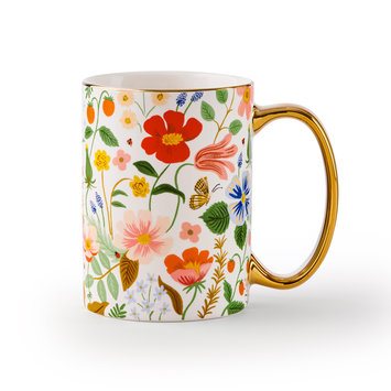 Rifle Paper Co - RP Rifle Paper Co - Strawberry Fields Mug