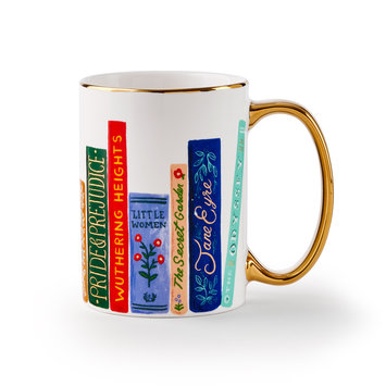 Rifle Paper Co - RP Rifle Paper Co - Book Club Mug