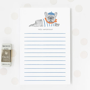 Dear Hancock - DH DH NP - Tres Important Notepad