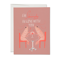 Red Cap Cards - RCC RCCGCLO0028 - Shrimply In Love