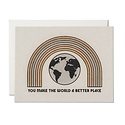 Red Cap Cards - RCC RCCGCMI0029 - You Make the World a Better Place