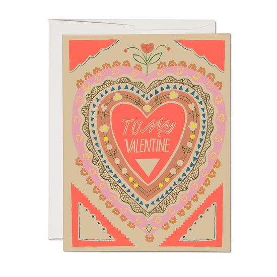Red Cap Cards - RCC RCCGCVD0012 - To My Valentine