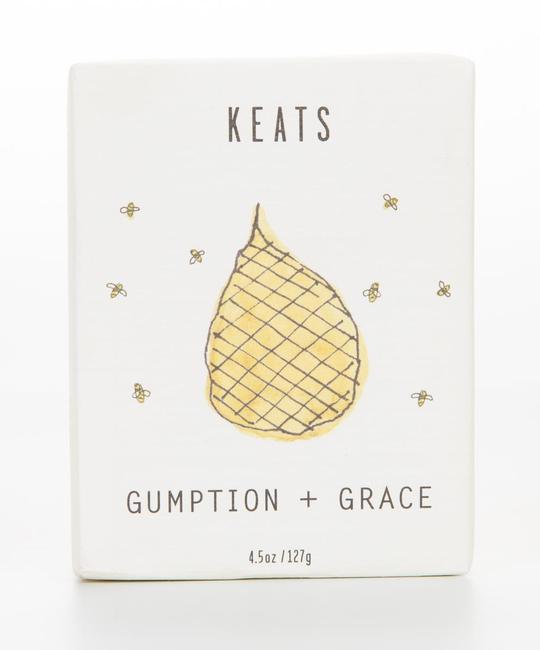 Keats Gumption + Grace  -  Lemongrass and Ginger Soap
