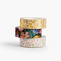 Rifle Paper Co - RP Rifle Paper Co - Strawberry Fields Washi Paper Tape, Set of 3
