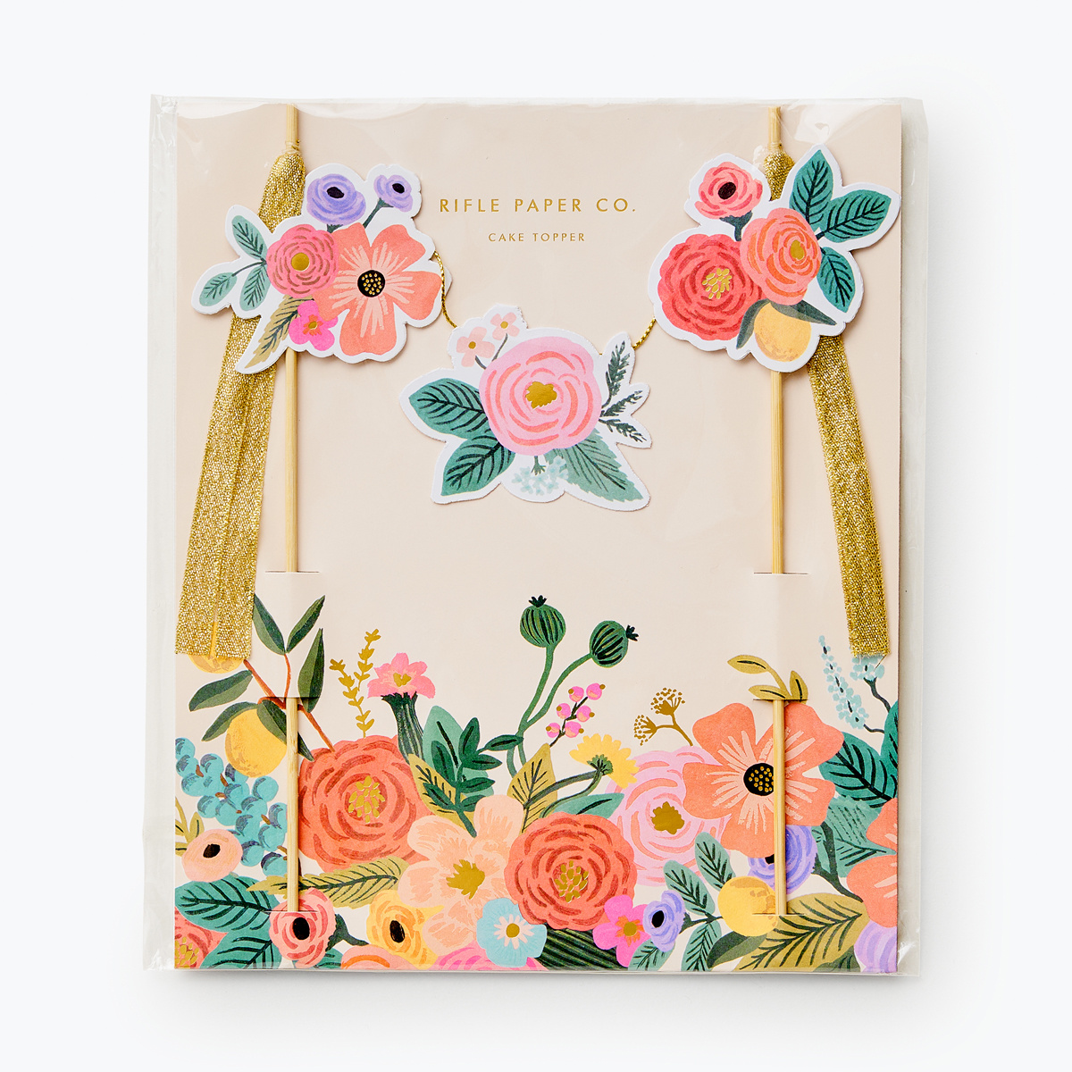 Rifle Paper Co - RP Rifle Paper Co - Garden Party Cake Topper