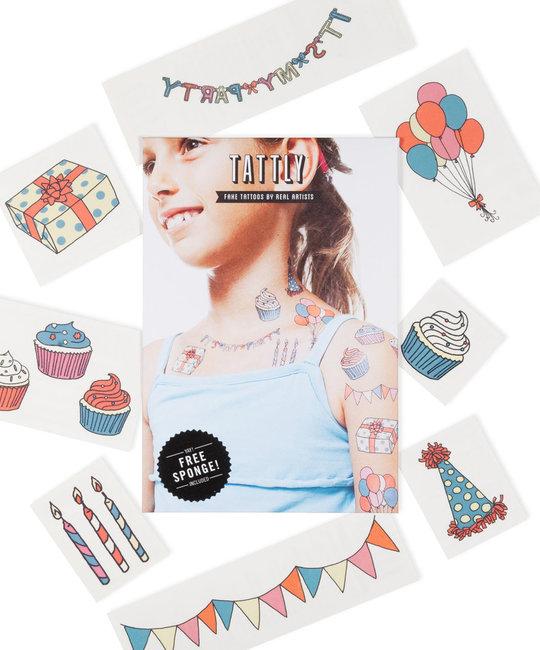 Tattly - TA Tattly Temporary Tattoos - Party Set