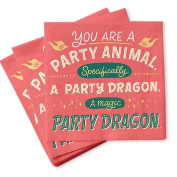 Emily McDowell - EMM Party Animal Napkins