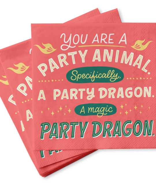 Em + Friends - EMM Party Animal Napkins