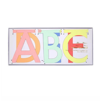 Meri Meri - MEM Multi Color Letter Garland