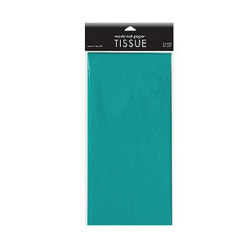 Waste Not Paper - WN Peacock Tissue Paper, 8 sheets