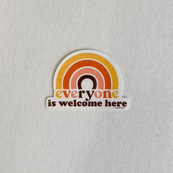 Savage Seeds Everyone is Welcome Here Sticker