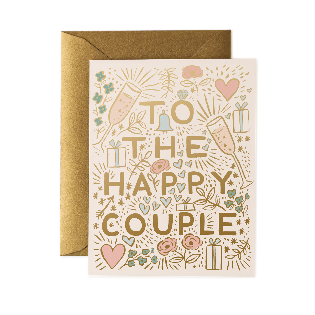 Rifle Paper Co - RP Rifle Paper Co - To the Happy Couple Card
