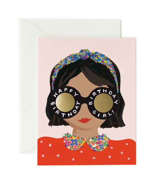 Rifle Paper Co - RP Rifle Paper Co - Headband Birthday Girl