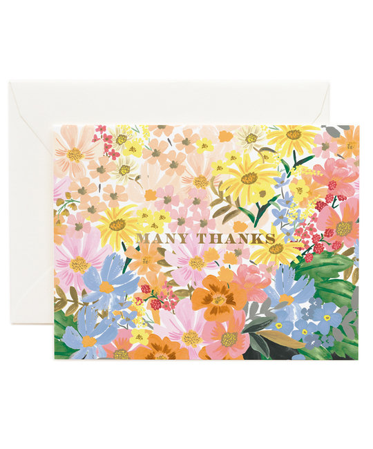 Rifle Paper Co - RP Rifle Paper Co - Marguerite Thank You Notes, Set of 8