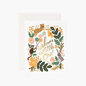 Rifle Paper Co - RP Rifle Paper Co - Menagerie Animal Baby