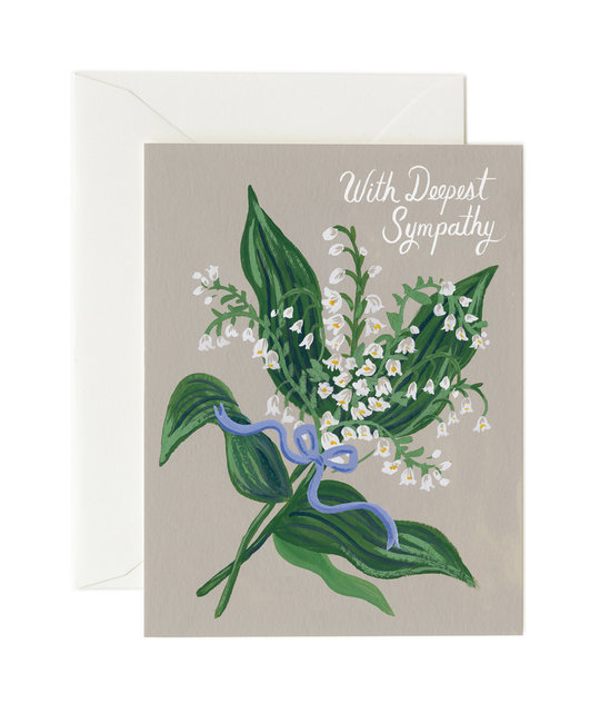 Rifle Paper Co - RP Rifle Paper Co - Lily of the Valley Sympathy