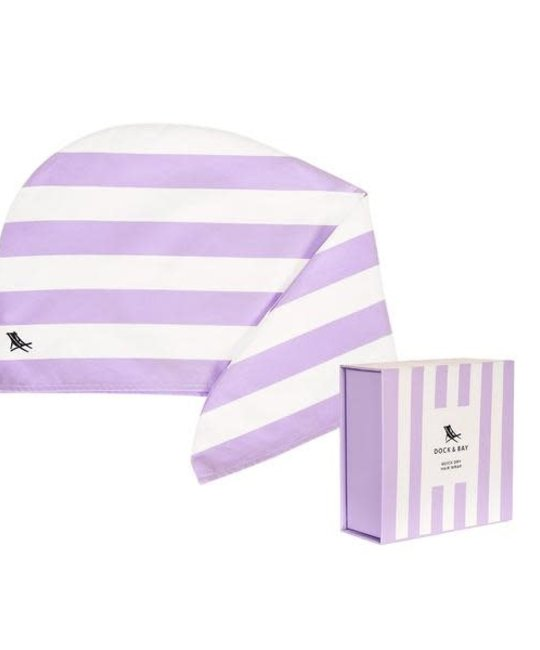 Dock & Bay - DAB Lombok Lilac Hair Wrap