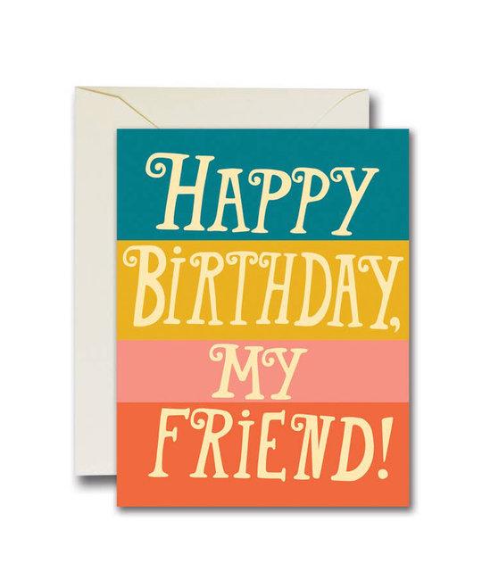 The Rainbow Vision - TRV Happy Birthday My Friend