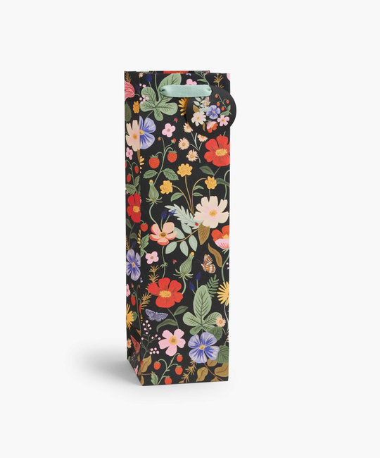 Rifle Paper Co - RP Rifle Paper Co - Strawberry Fields Wine Gift Bag