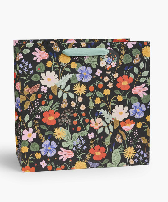 Rifle Paper Co - RP Rifle Paper Co - Strawberry Fields Large Gift Bag