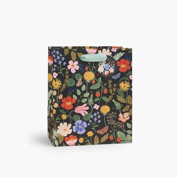 Rifle Paper Co - RP Rifle Paper Co - Strawberry Fields Medium Gift Bag