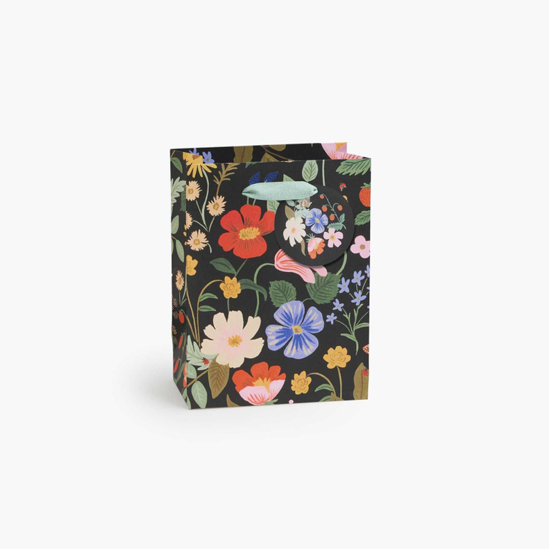 Rifle Paper Co - RP Rifle Paper Co - Strawberry Fields Small Gift Bag