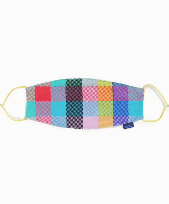 Baggu - BA Baggu - Madras Mix Adjustable Mask,