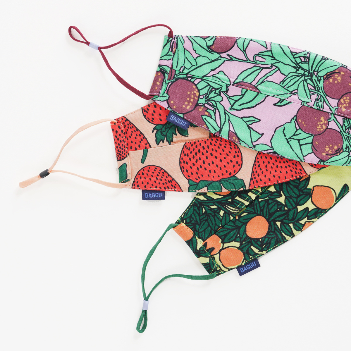 Baggu - BA Baggu - Backyard Fruit Adjustable Mask,