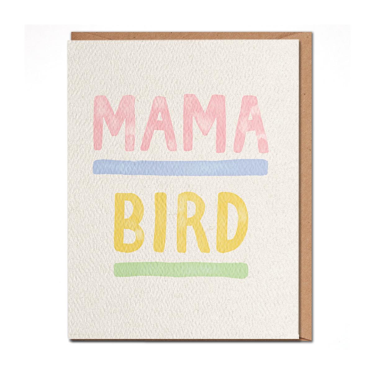 Daydream Prints - DP Mama Bird Mom Card