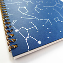 Middle Dune Star Map Notebook (lined)