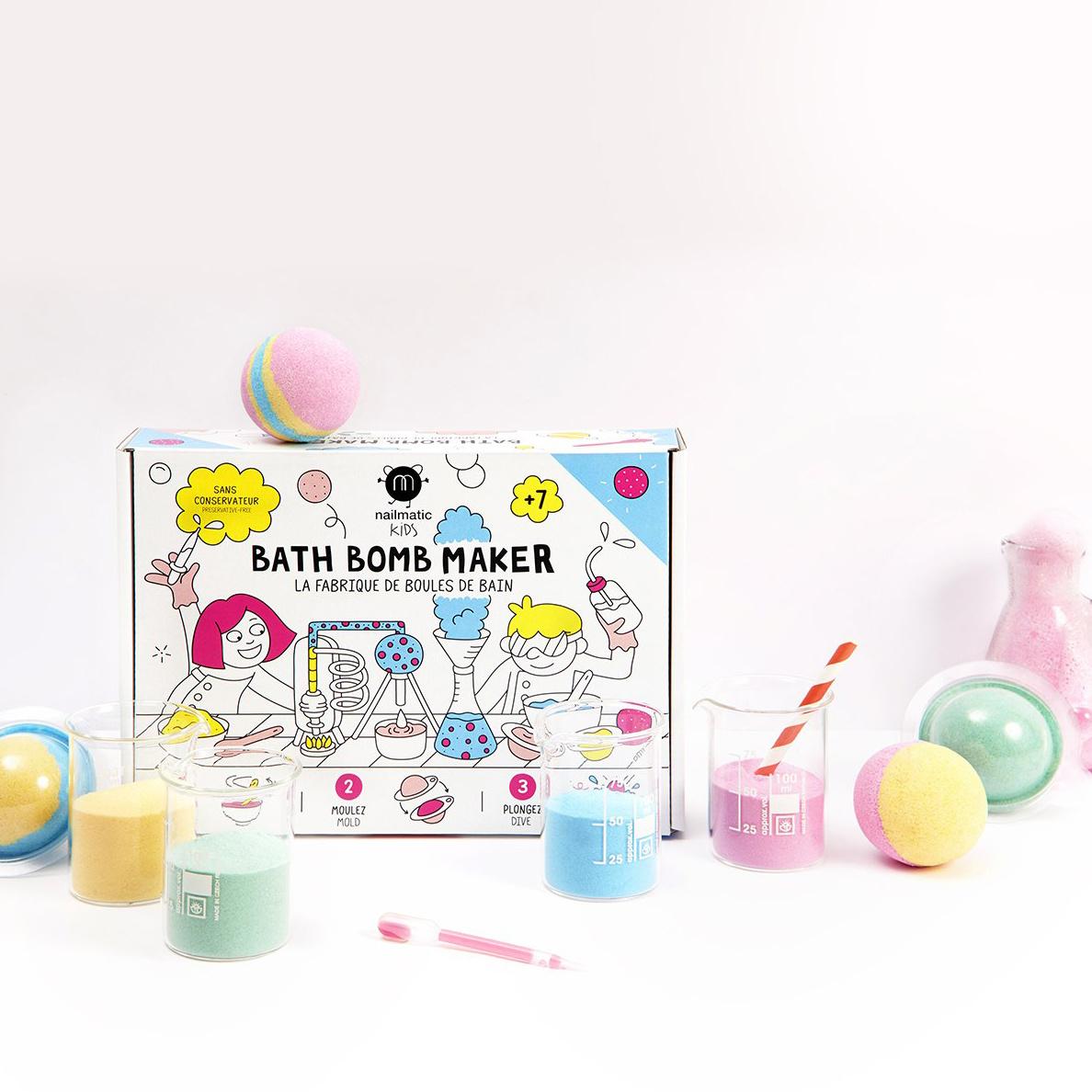 Nailmatic - NAI Nailmatic - Kids Bath Bomb DIY Maker Kit