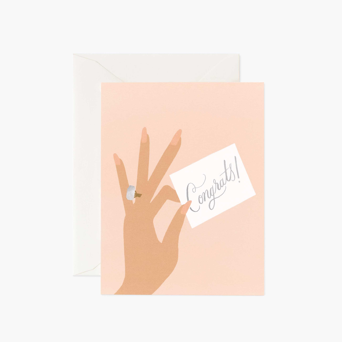 Rifle Paper Co - RP Rifle Paper Co - Congrats Ring (Hand) Card