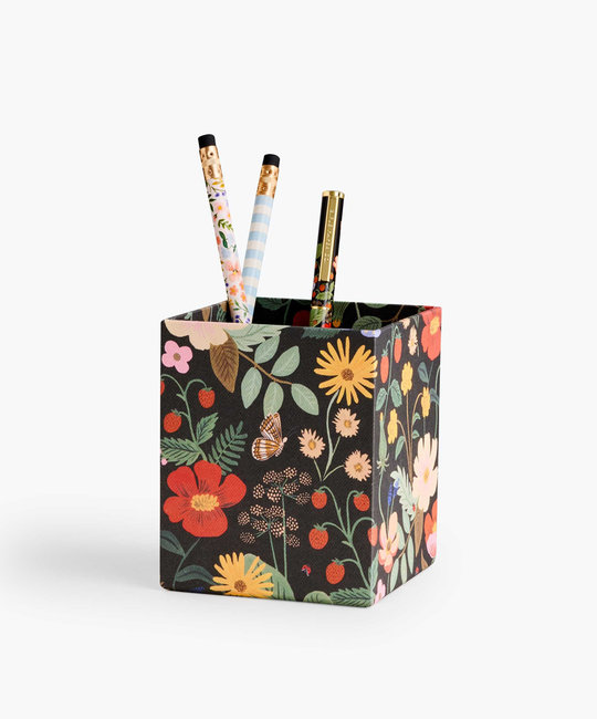 Rifle Paper Co - RP Rifle Paper Co - Strawberry Fields Pencil Cup