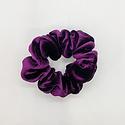 Felicity Howells - FH Plum Velvet Hair Scrunchie