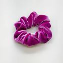 Felicity Howells - FH Orchid Velvet Hair Scrunchie