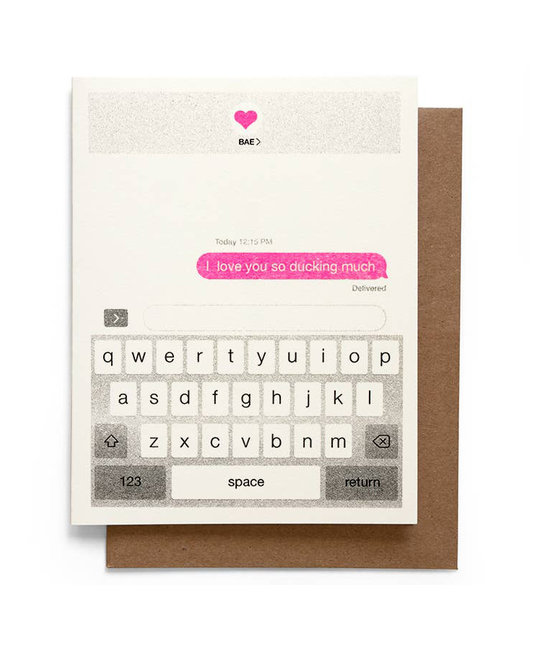 Smarty Pants Paper - SPP Ducking love you