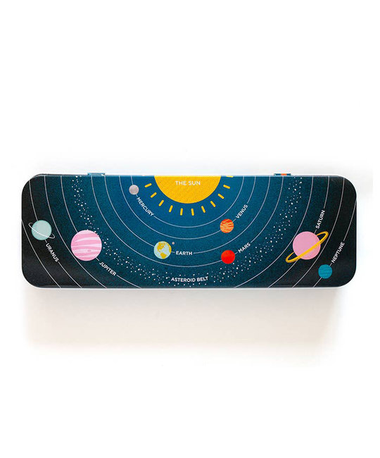 Smarty Pants Paper Solar System Pencil Box